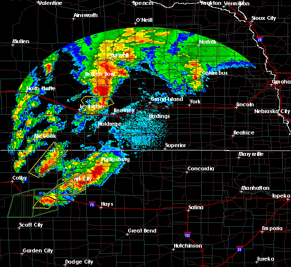Radar Image for Severe Thunderstorms near Speed, KS at 10/2/2017 10:19 PM CDT