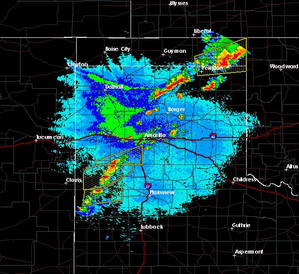 Radar Image for Severe Thunderstorms near Dimmitt, TX at 10/6/2017 9:00 PM CDT