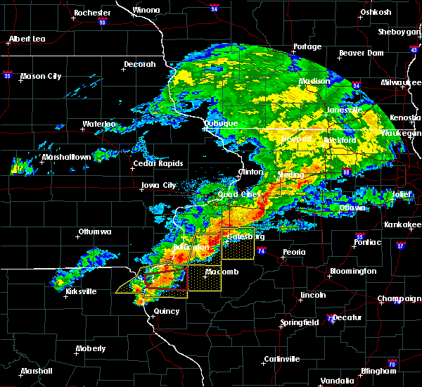 Radar Image for Severe Thunderstorms near Kirkwood, IL at 10/14/2017 5:56 PM CDT