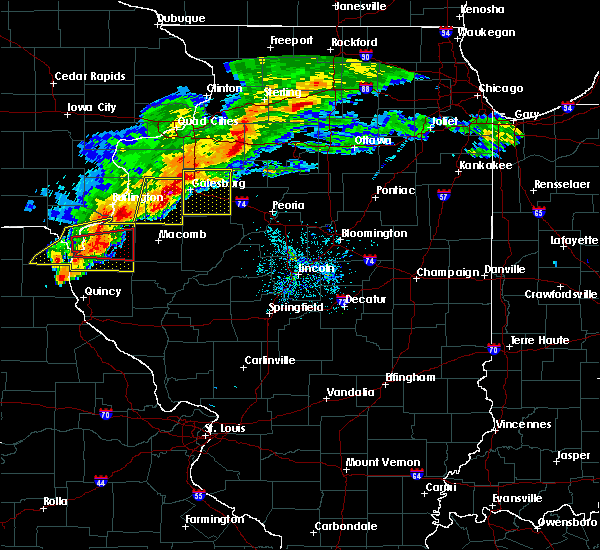 Radar Image for Severe Thunderstorms near Plymouth, IL at 10/14/2017 5:56 PM CDT