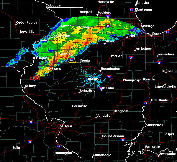 Radar Image for Severe Thunderstorms near Plymouth, IL at 10/14/2017 6:36 PM CDT