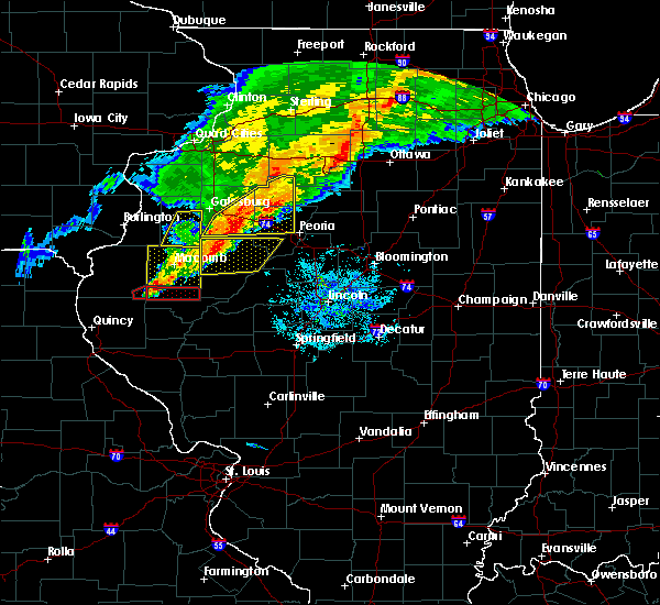 Radar Image for Severe Thunderstorms near Canton, IL at 10/14/2017 6:52 PM CDT