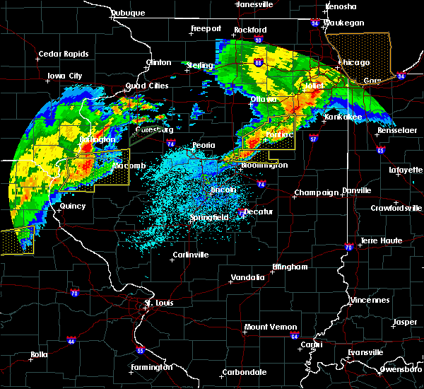 Radar Image for Severe Thunderstorms near Anchor, IL at 10/14/2017 8:30 PM CDT