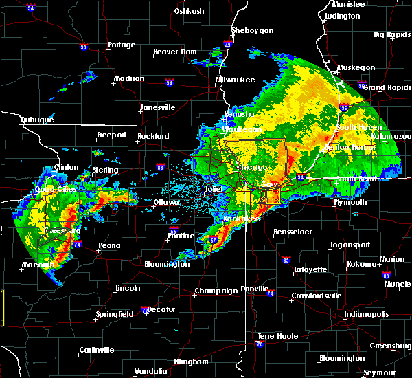Radar Image for Severe Thunderstorms near Aberdeen, IN at 10/14/2017 9:19 PM CDT