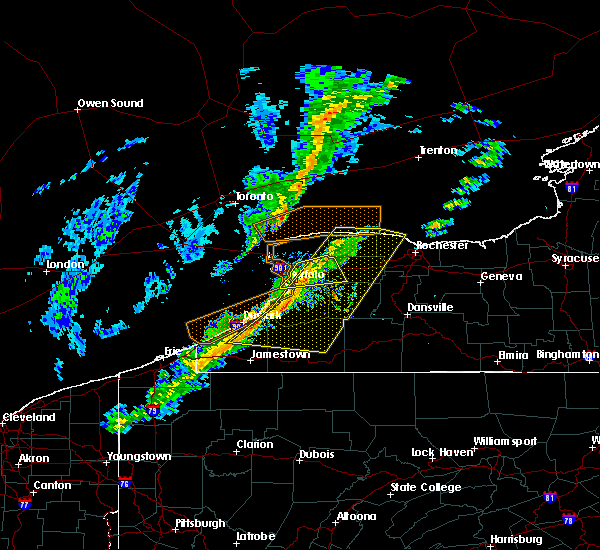 Radar Image for Severe Thunderstorms near Little Valley, NY at 10/15/2017 4:01 PM EDT