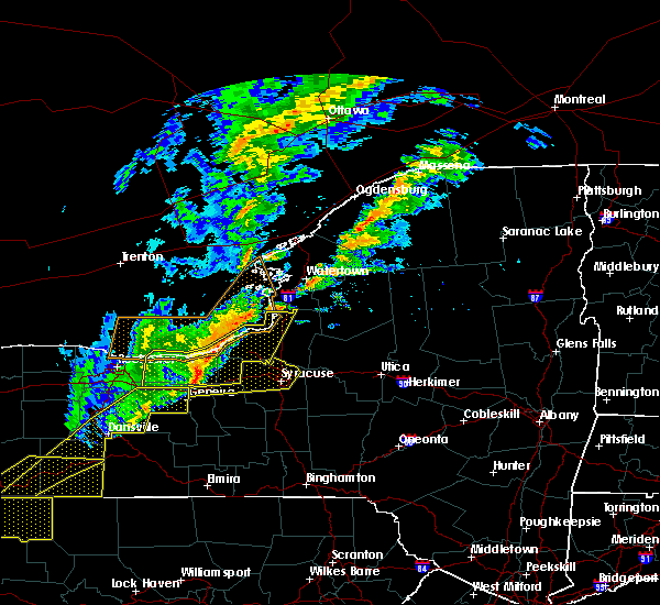Radar Image for Severe Thunderstorms near Lyncourt, NY at 10/15/2017 5:41 PM EDT