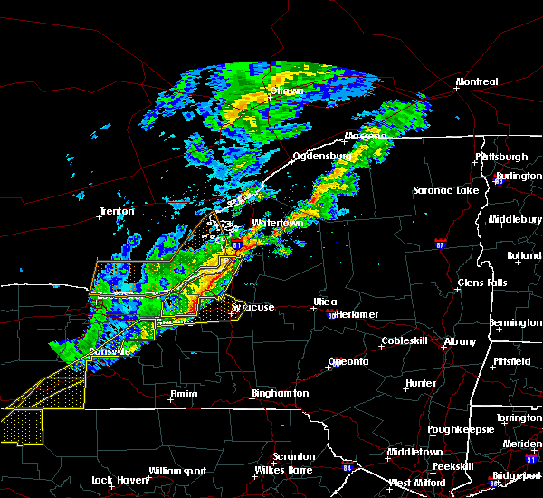 Radar Image for Severe Thunderstorms near Brewerton, NY at 10/15/2017 5:59 PM EDT