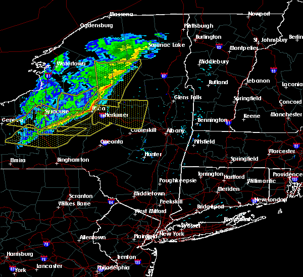 Radar Image for Severe Thunderstorms near Frankfort, NY at 10/15/2017 7:12 PM EDT