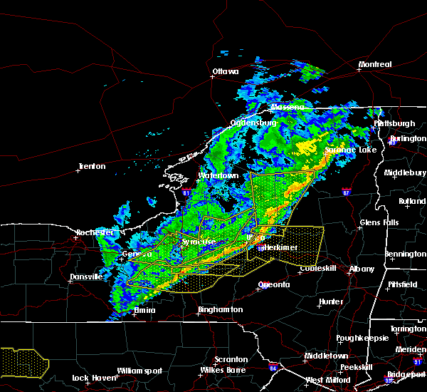 Radar Image for Severe Thunderstorms near Cold Brook, NY at 10/15/2017 7:21 PM EDT