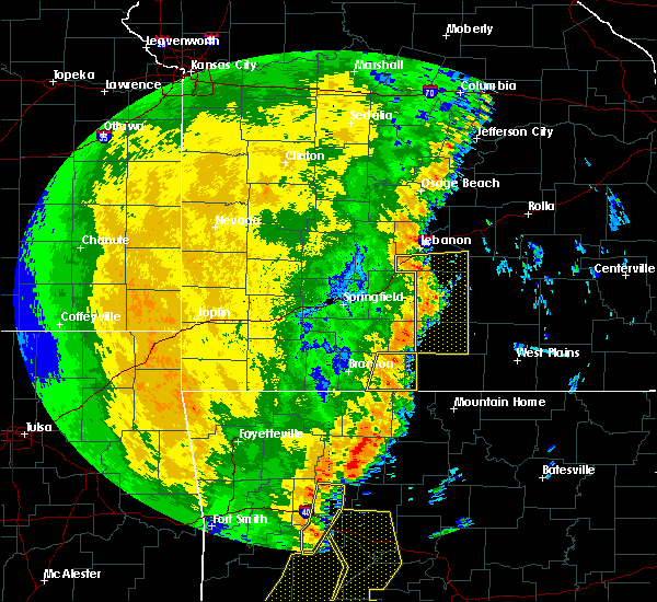 Radar Image for Severe Thunderstorms near Kissee Mills, MO at 10/22/2017 2:17 AM CDT