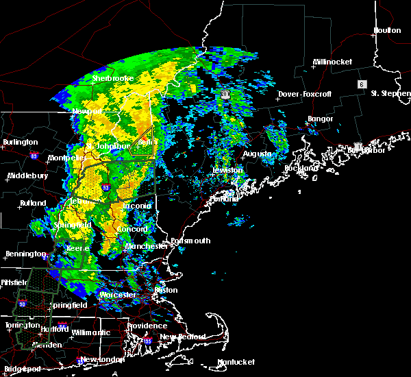 Radar Image for Severe Thunderstorms near Berlin, NH at 10/25/2017 1:25 AM EDT