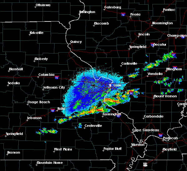 Interactive Hail Maps Hail Map for Bonne Terre MO