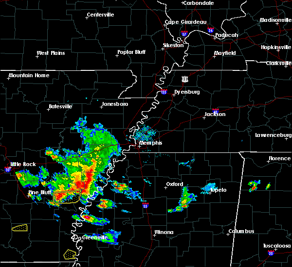 Radar Image for Severe Thunderstorms near Rondo, AR at 11/3/2017 5:35 PM CDT