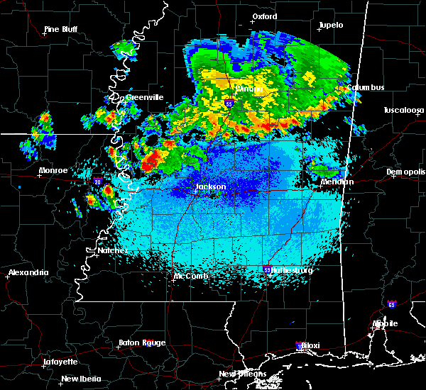 Radar Image for Severe Thunderstorms near Bentonia, MS at 11/3/2017 10:45 PM CDT