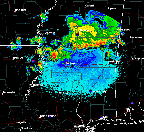 Radar Image for Severe Thunderstorms near Bentonia, MS at 11/3/2017 11:03 PM CDT