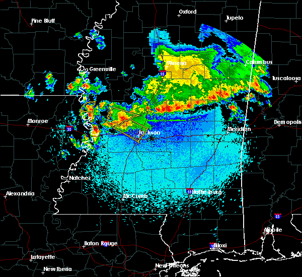 Radar Image for Severe Thunderstorms near Flora, MS at 11/3/2017 11:27 PM CDT