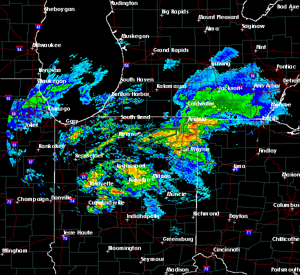 Radar Image for Severe Thunderstorms near Ney, OH at 11/5/2017 12:39 PM EDT