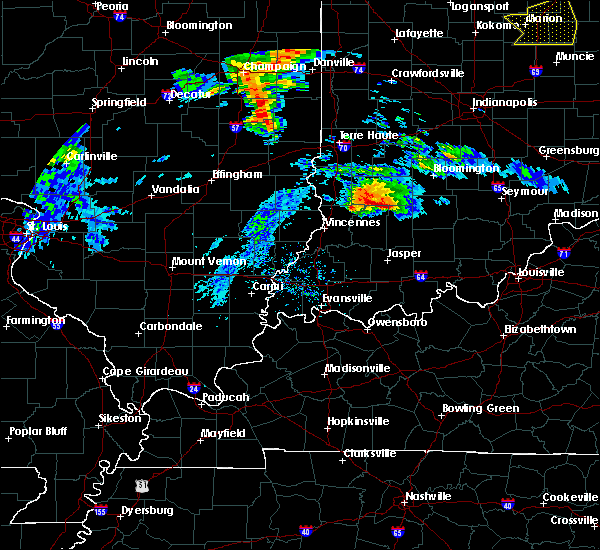 Radar Image for Severe Thunderstorms near Crane, IN at 11/5/2017 1:45 PM EDT