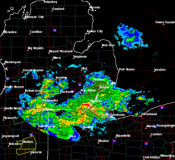 Radar Image for Severe Thunderstorms near Custar, OH at 11/5/2017 2:02 PM EDT