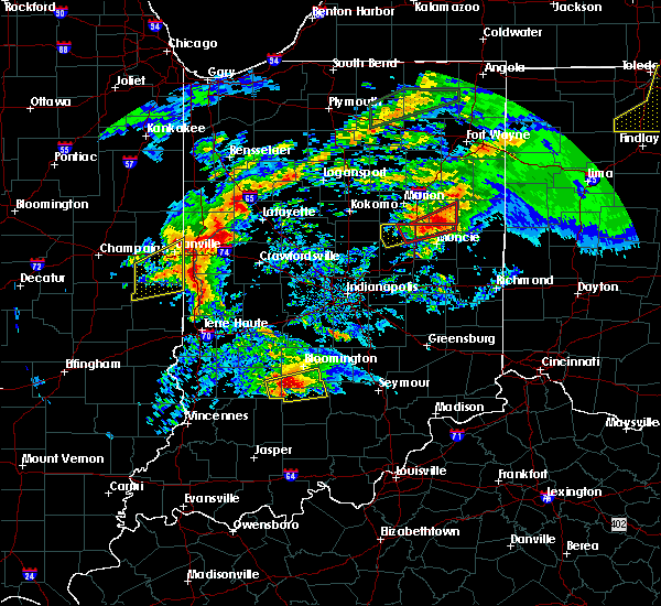 Radar Image for Severe Thunderstorms near Bloomington, IN at 11/5/2017 2:24 PM EDT