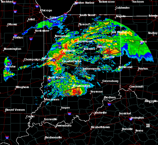 Radar Image for Severe Thunderstorms near Albany, IN at 11/5/2017 2:42 PM EDT