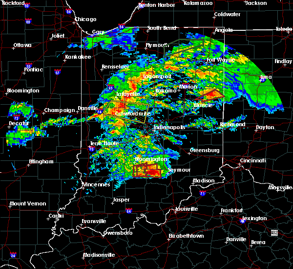 Radar Image for Severe Thunderstorms near Whitestown, IN at 11/5/2017 2:57 PM EDT