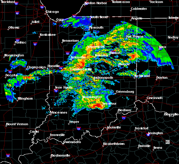 Radar Image for Severe Thunderstorms near Whitestown, IN at 11/5/2017 3:06 PM EDT