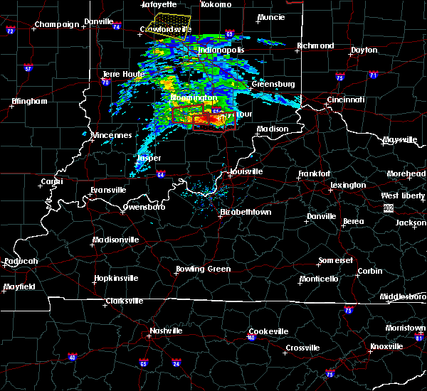 Radar Image for Severe Thunderstorms near Seymour, IN at 11/5/2017 3:09 PM EDT