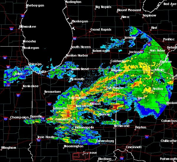 Radar Image for Severe Thunderstorms near Coldwater, OH at 11/5/2017 3:19 PM EDT