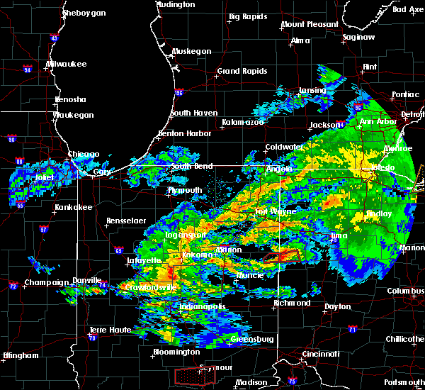 Radar Image for Severe Thunderstorms near Celina, OH at 11/5/2017 3:25 PM EDT