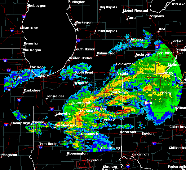 Radar Image for Severe Thunderstorms near Celina, OH at 11/5/2017 3:28 PM EDT