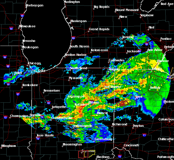 Radar Image for Severe Thunderstorms near Celina, OH at 11/5/2017 3:43 PM EDT