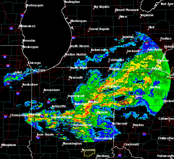 Radar Image for Severe Thunderstorms near Celina, OH at 11/5/2017 3:52 PM EDT