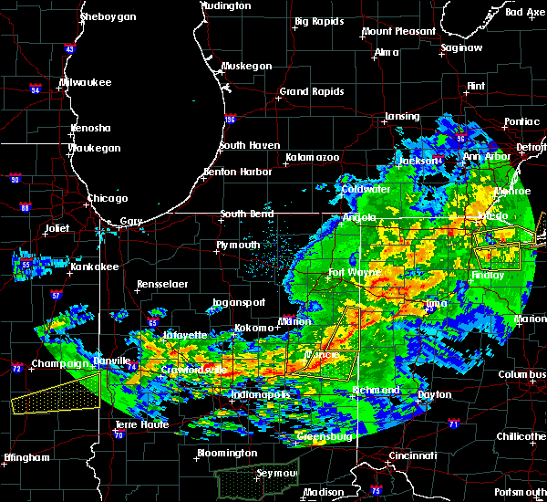 Radar Image for Severe Thunderstorms near St. Henry, OH at 11/5/2017 4:31 PM EDT
