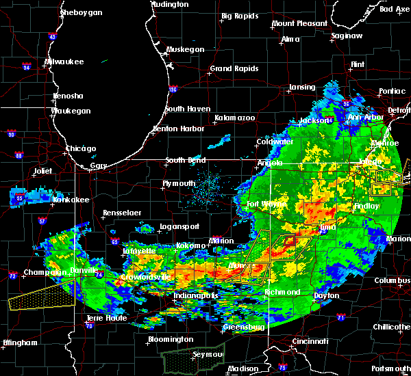 Radar Image for Severe Thunderstorms near Celina, OH at 11/5/2017 4:44 PM EDT