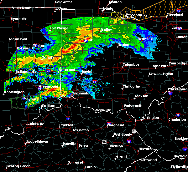 Radar Image for Severe Thunderstorms near Burkettsville, OH at 11/5/2017 4:50 PM EDT
