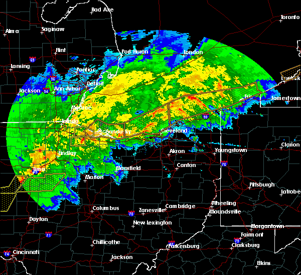 Radar Image for Severe Thunderstorms near Port Clinton, OH at 11/5/2017 4:59 PM EDT