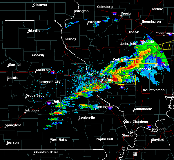 Radar Image for Severe Thunderstorms near Waterloo, IL at 11/5/2017 4:02 PM CDT