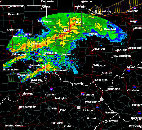 Radar Image for Severe Thunderstorms near Rossburg, OH at 11/5/2017 5:05 PM EDT