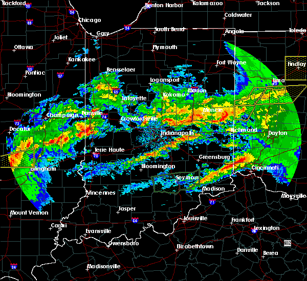 Radar Image for Severe Thunderstorms near Darlington, IN at 11/5/2017 5:17 PM EDT