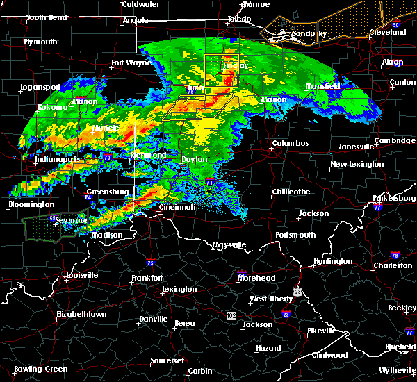 Radar Image for Severe Thunderstorms near Lima, OH at 11/5/2017 5:23 PM EDT