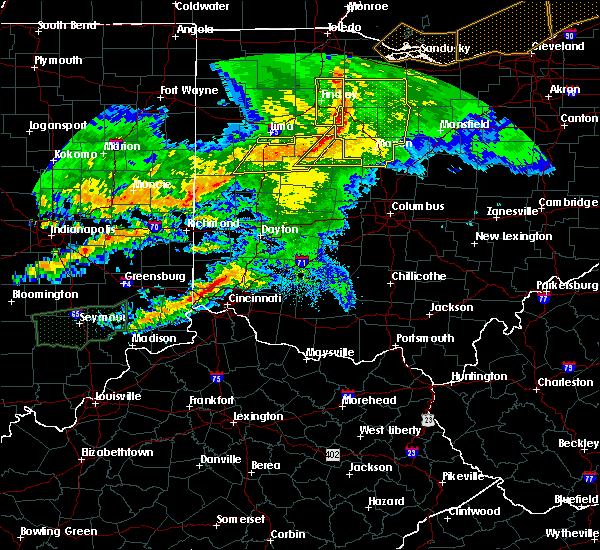 Radar Image for Severe Thunderstorms near Huntsville, OH at 11/5/2017 5:26 PM EDT