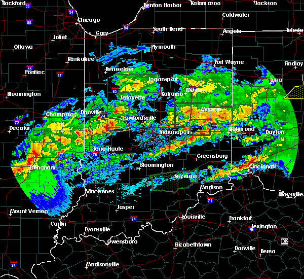 Radar Image for Severe Thunderstorms near Marshall, IN at 11/5/2017 5:41 PM EDT