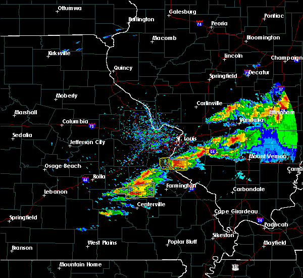 Radar Image for Severe Thunderstorms near Waterloo, IL at 11/5/2017 4:56 PM CDT