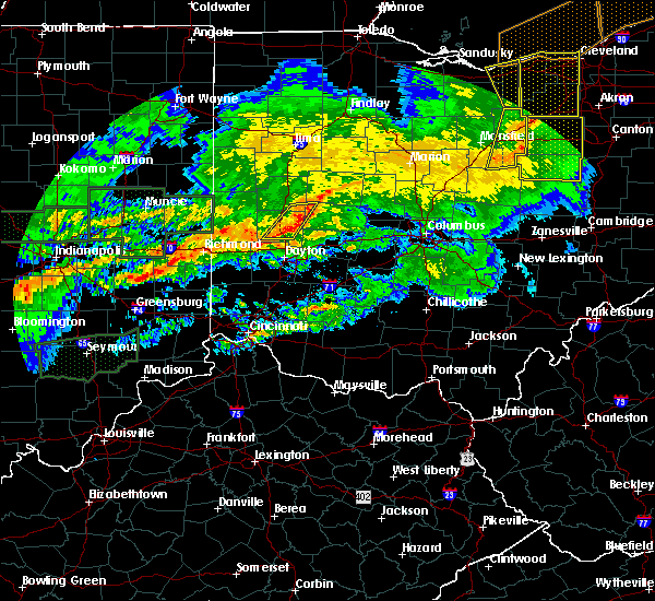 Radar Image for Severe Thunderstorms near Piqua, OH at 11/5/2017 6:37 PM EDT
