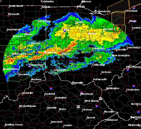 Radar Image for Severe Thunderstorms near Springfield, OH at 11/5/2017 6:55 PM EDT