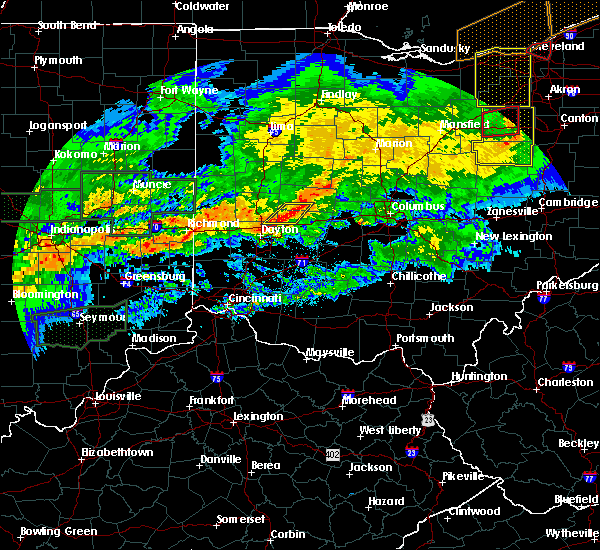 Radar Image for Severe Thunderstorms near Springfield, OH at 11/5/2017 7:01 PM EDT