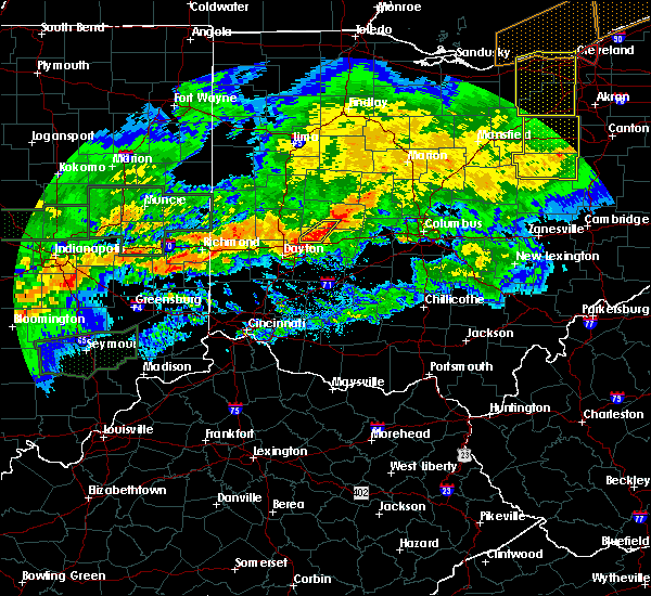 Radar Image for Severe Thunderstorms near Springfield, OH at 11/5/2017 7:05 PM EDT