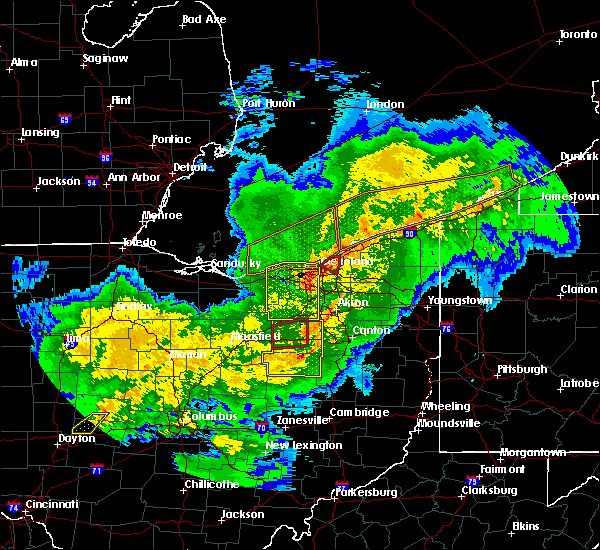 Radar Image for Severe Thunderstorms near Massillon, OH at 11/5/2017 7:05 PM EDT