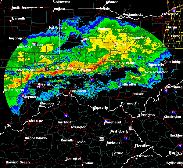 Radar Image for Severe Thunderstorms near Springfield, OH at 11/5/2017 7:22 PM EDT